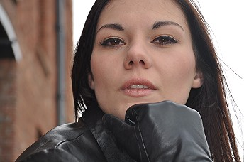 Girl-in-leather-boots-and-leather-jacket