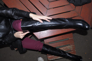 Erica-in-leather-pants-gloves-jacket-boots